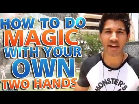 Awesome Magic Trick: How To Do Magic With Your Own Two Hands