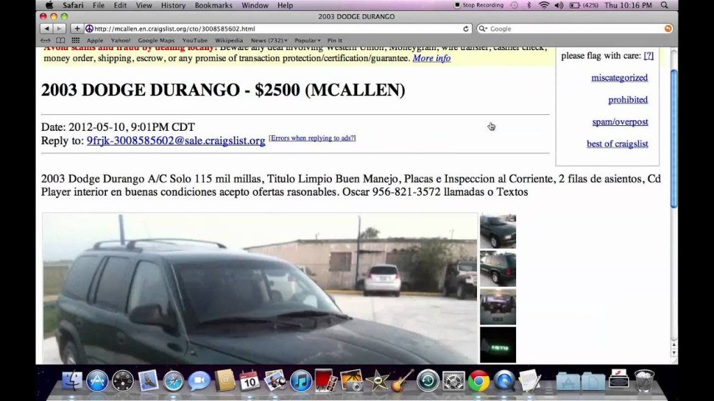 Craigslist Harlingen Autos Post