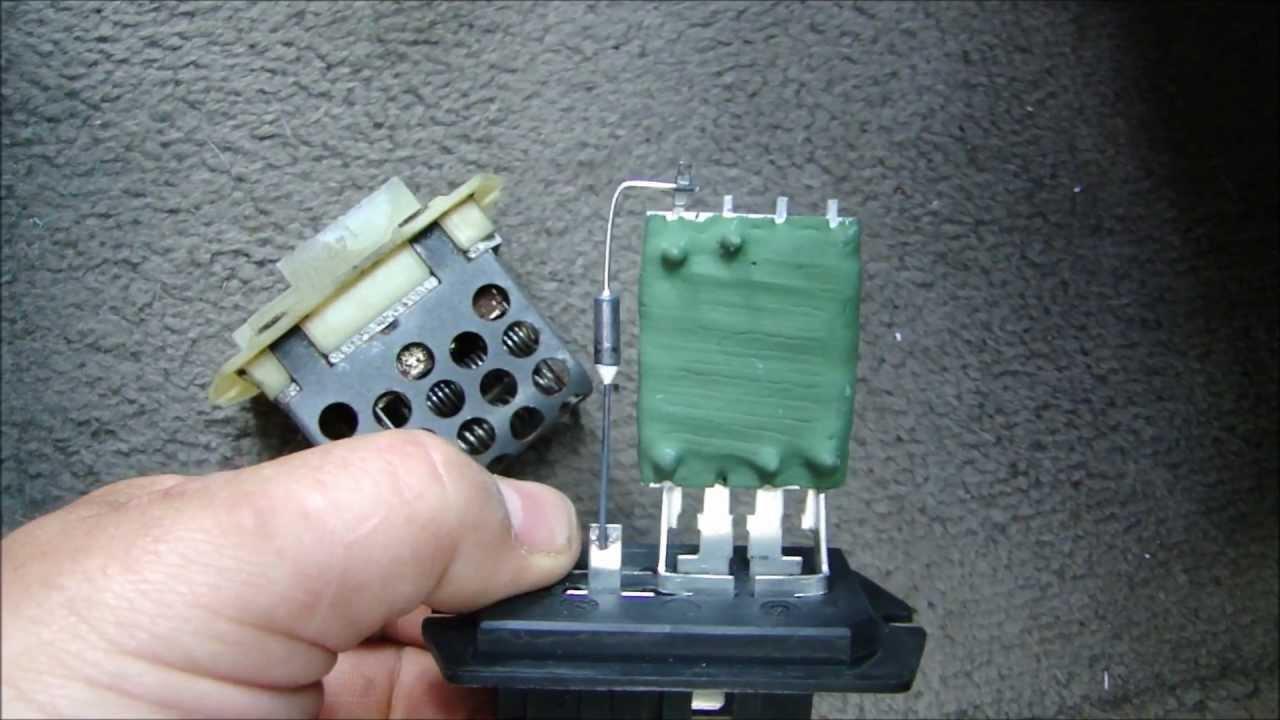 11 Flat Pin Relay Wiring Diagram Blower Motor Stuck On High Youtube
