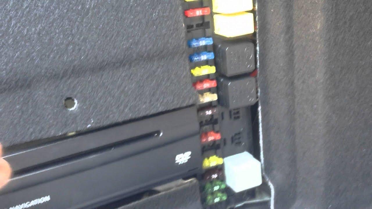 e500 fuse box