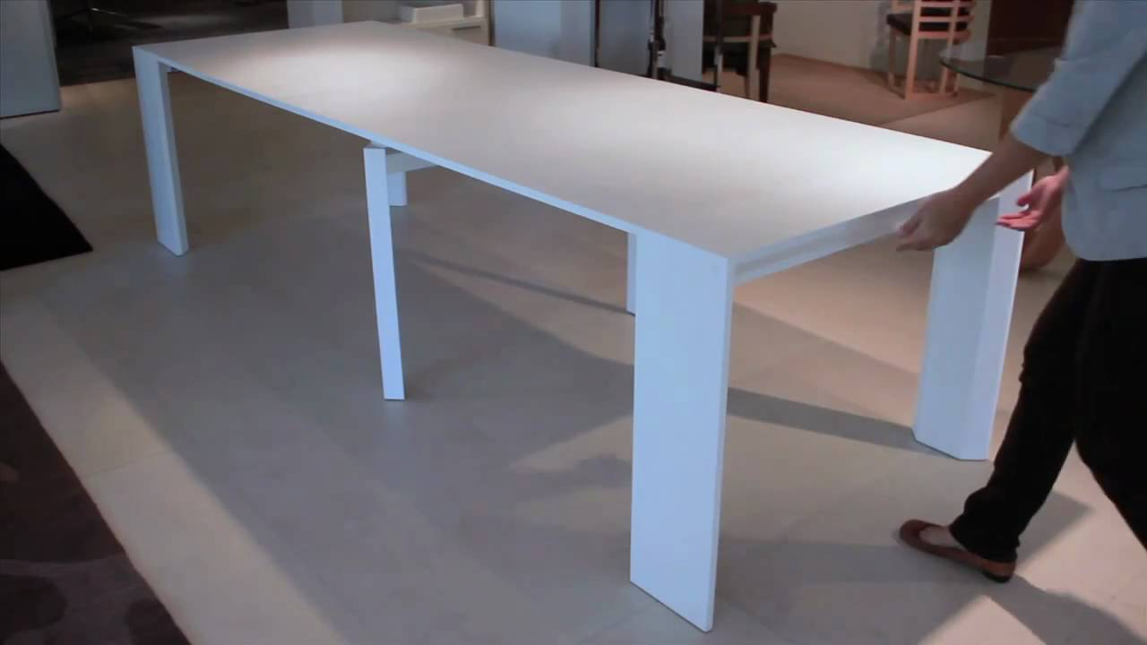 Extendable Dining Table Goliath Console / Dining Table - Youtube