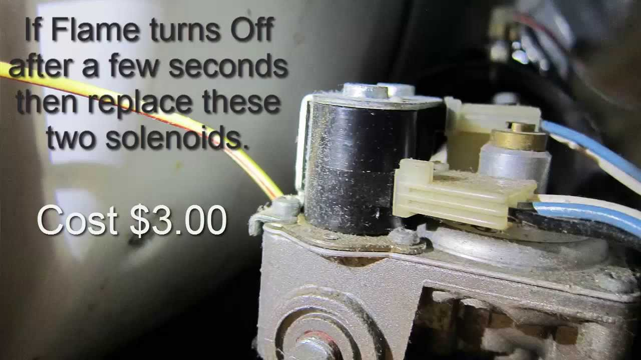 110 Switch Wiring Diagram Gas Dryer Won T Heat Easy Repair Youtube