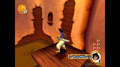 Disney's Aladdin: Nasira's Revenge - Gameplay PSX (PS One) HD 720P (Playstation classics) - YouTube