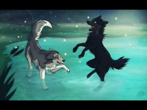 Happy Girl Boy Wallpaper Anime Wolves Fireflies Youtube