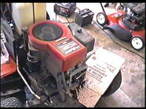 11 Hp Briggs And Stratton Wiring Diagram How To Adjust Valves Fix Hard To Start Lawn Tractor