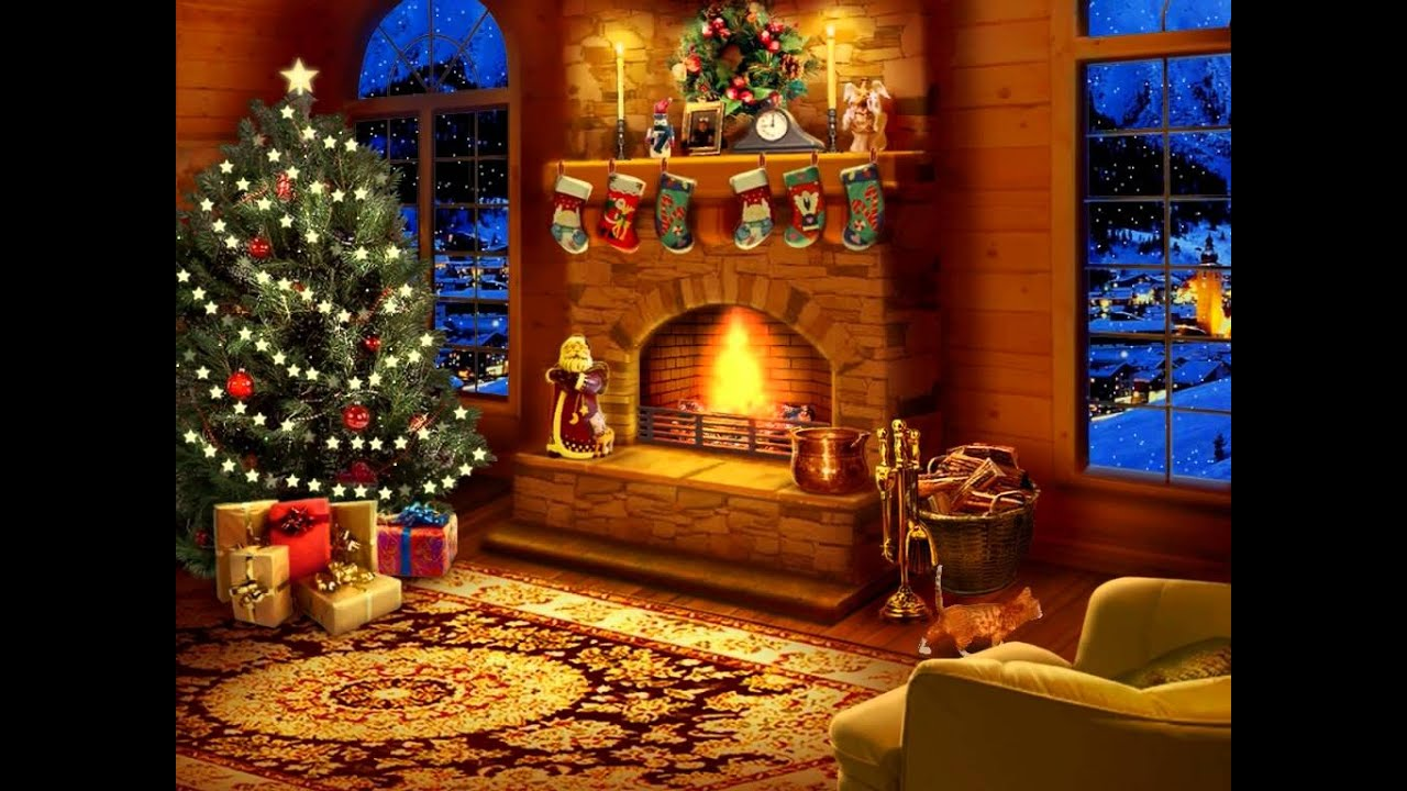 Best 3d Wallpapers For Living Room Night Before Christmas Screensaver Youtube