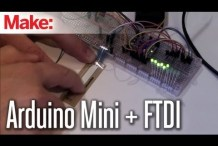 Getting Started with Arduino Mini and FTDI