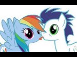 My Little Pony Rainbow Dash And Soarin Kiss