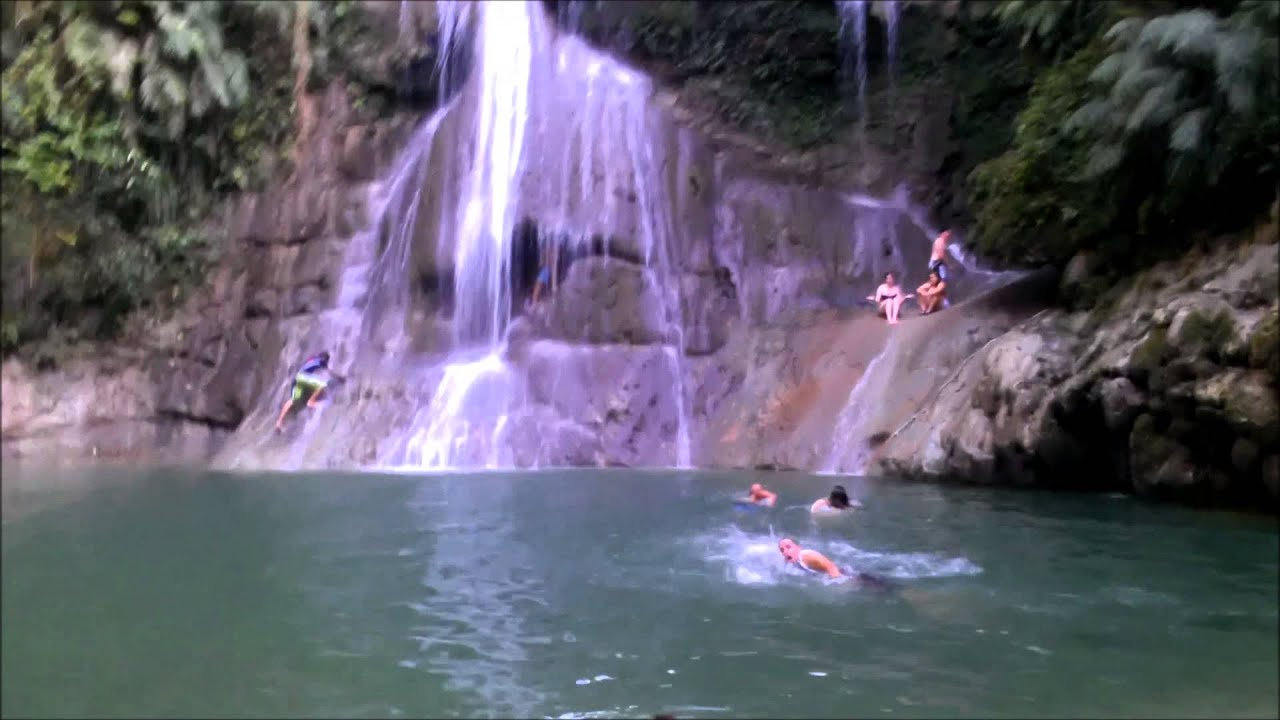 Beautiful Water Fall Scenery Wallpapers Gozalandia Waterfall San Sabastian Puerto Rico 1080p Hd
