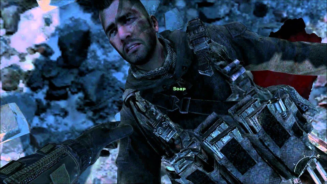 Mw2 Ghost Wallpaper Hd Call Of Duty Mw3 Soap S Death Hd Youtube