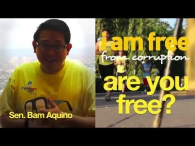 Sen. Bam Aquino on Freedom Run 2013