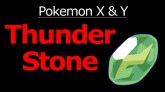 Pokemon X and Y Thunder Stone Location - YouTube
