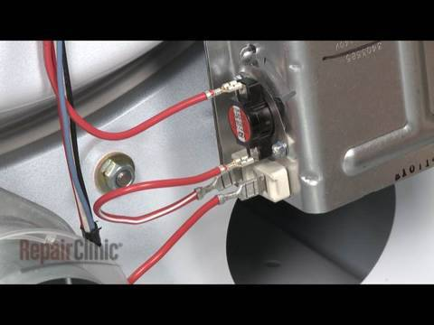 Kenmore Range Wiring Diagram Switch Dryer High Limit Thermostat And Thermal Fuse Replacement