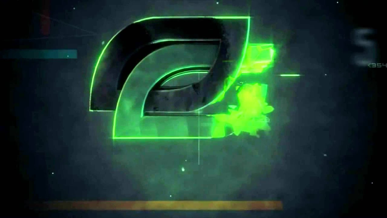 Feature Wall Wallpaper 3d Optic Gaming Intro Logo Youtube