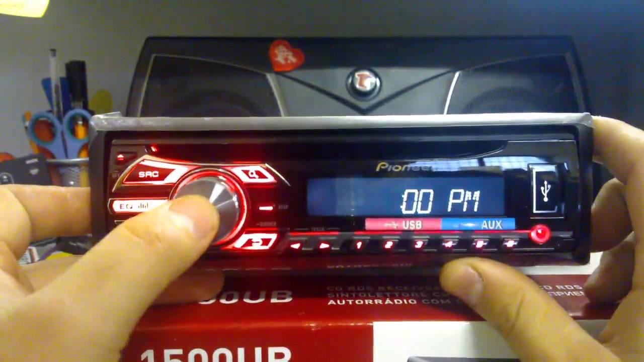 Pioneer Deh 150mp Wiring Diagram Pioneer Deh 1500ub Recensione Myaudiostore Videoreview