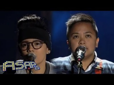 Epey Herher sings 'Wish You Were Here/Always Be My Baby' with Aiza ...