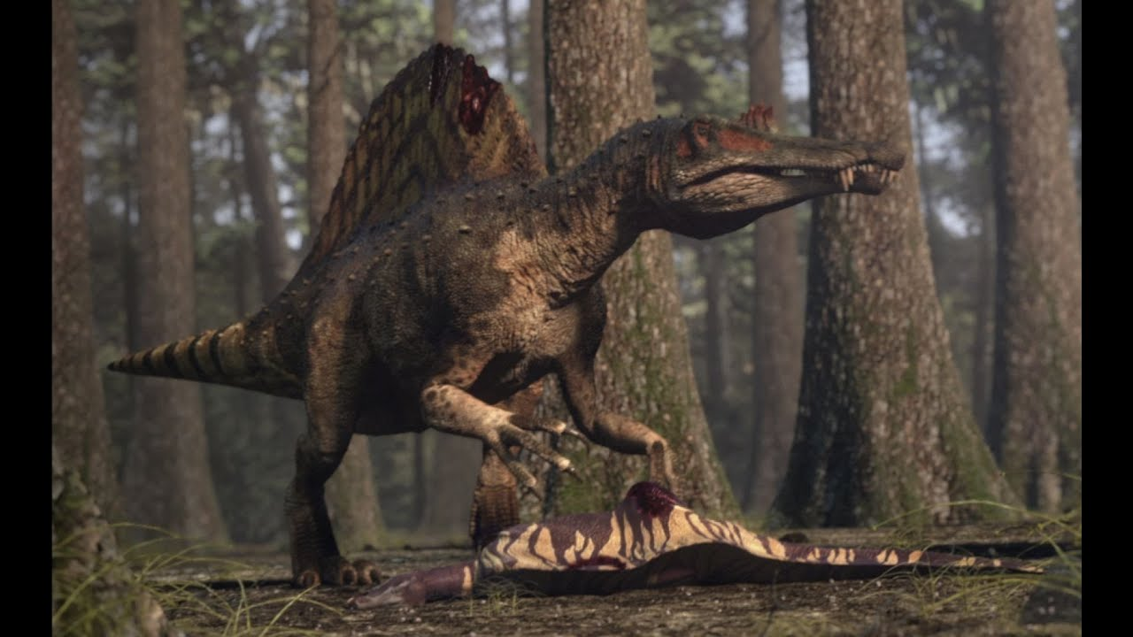 Walking With Dinosaurs 3d Wallpaper Spinosaurus Vs Carcharodontosaurus The Balance Of Power
