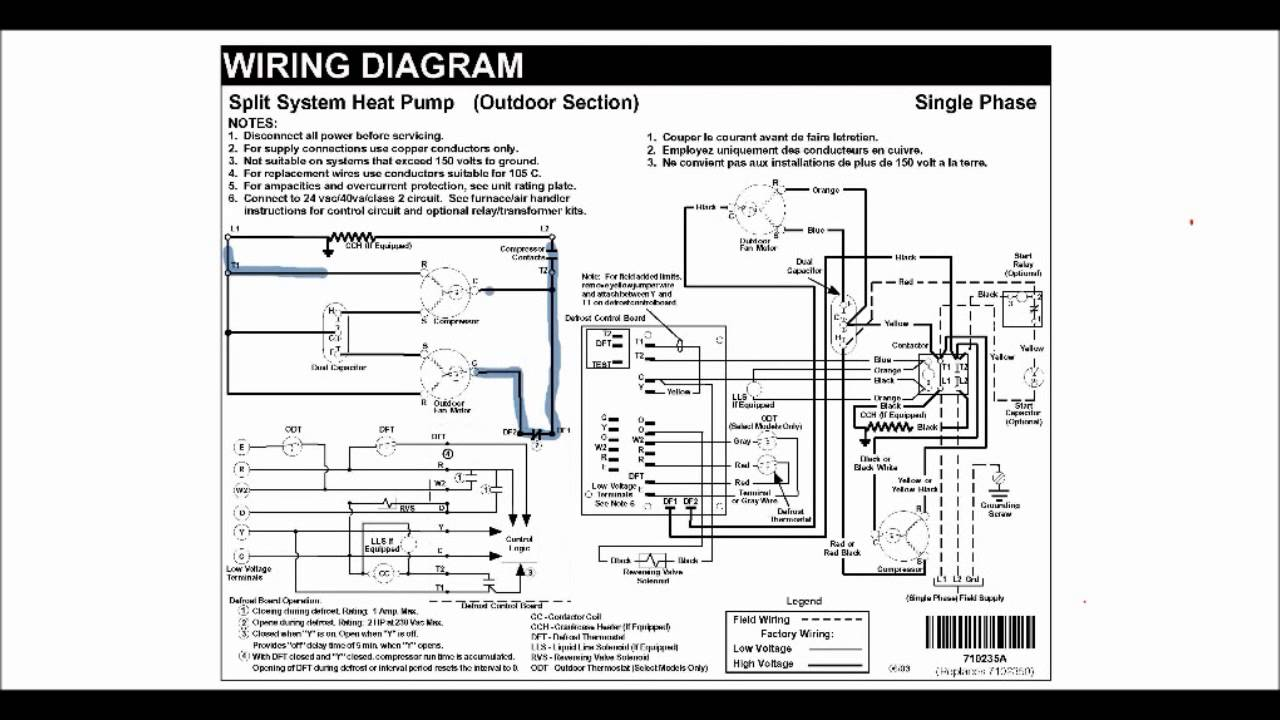 reading hvac schematic diagrams