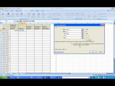 How To Calculate A Loan Payment & Principal Remaining - YouTube