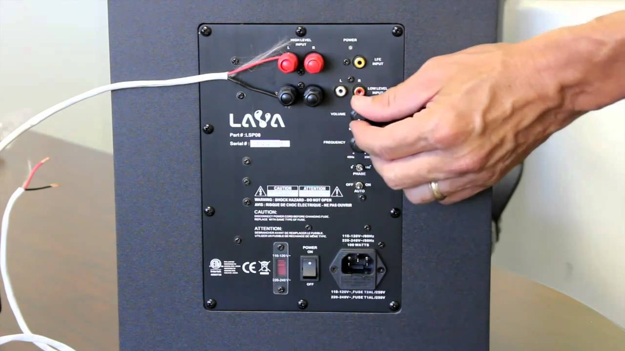 wiring diagram subwoofer
