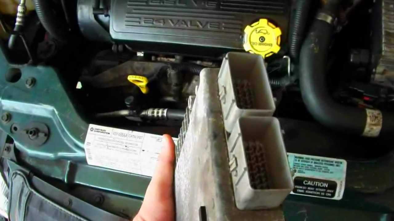 99 Ford Explorer Fuse Box Diagram Chrysler Sebring Convertible 96 00 Code 601 Pcm