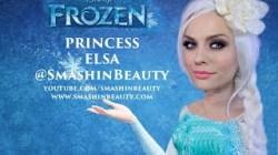 Video Disney's Frozen Princess Elsa Makeup Tutorial (Ice Queen