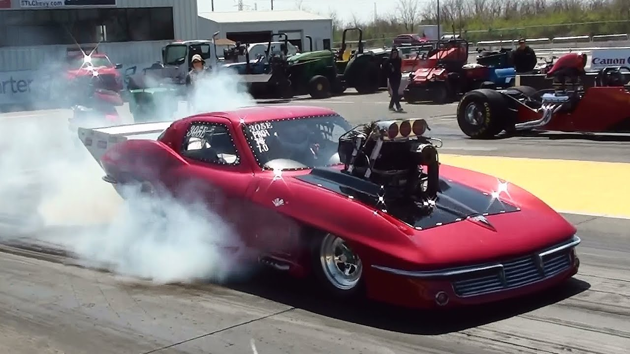 Street Racing Cars Wallpaper With Girls 1963 Corvette 0 150 Mph 4 8 Seconds Awesome Supercharged