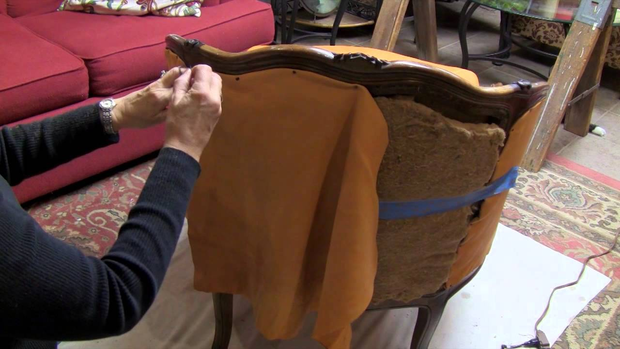 Rattan 3 Seater Sofa Cover A Found Treasure Restored - Reupholster A Chair - Youtube