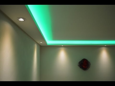 Deckenabhängung am Rand? Als indirekte Beleuchtung? Beleuchtung - decke styroporplatten schnell sauber preiswert