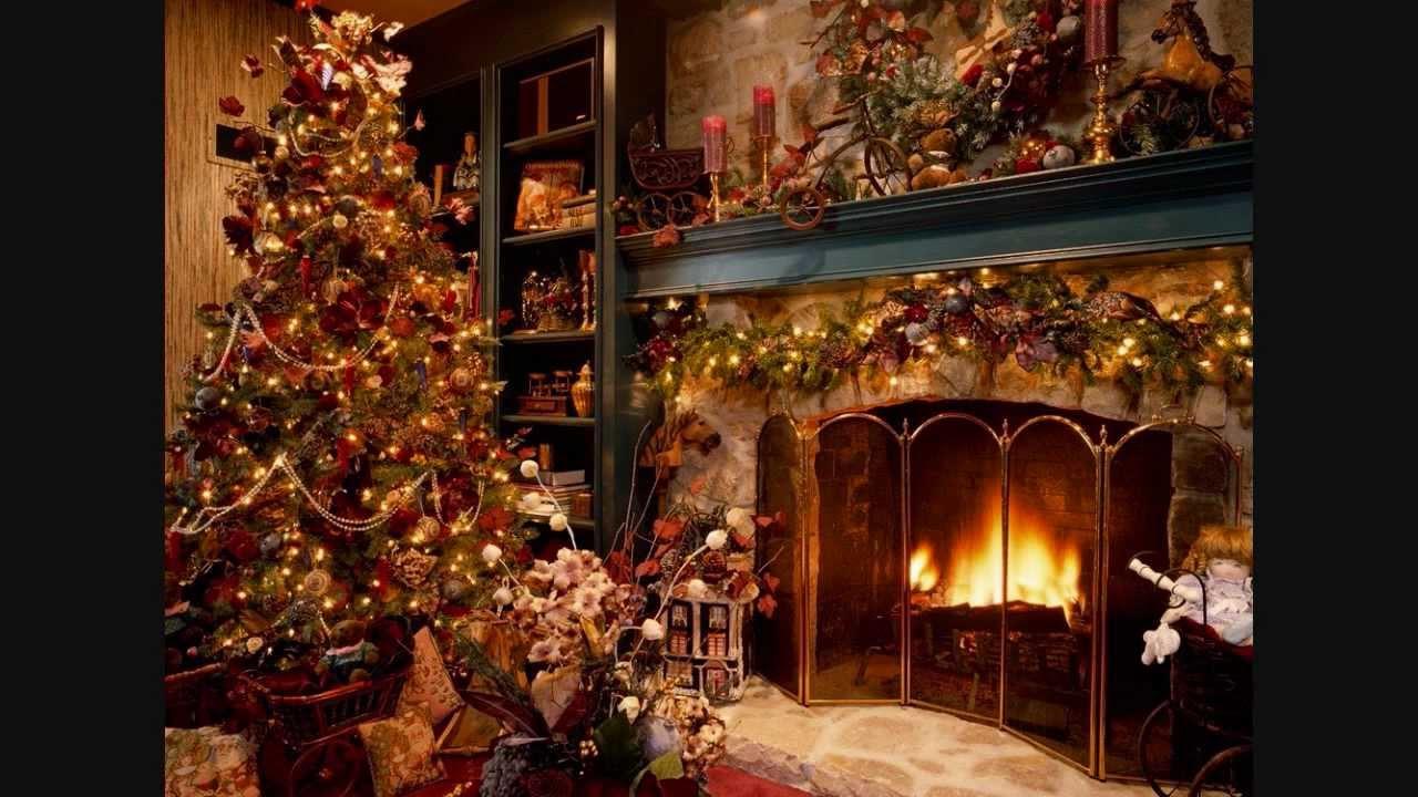 Free Animated Desktop Wallpaper Like Snow Falling On Background Christmas Carols Instrumentals Fireplace Sound
