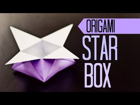 Origami For Kids Star Box Instructions Youtube