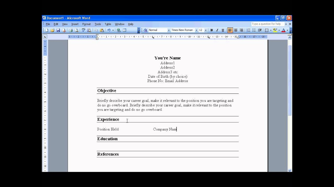 how to write a resume step by step resume builder how to write a resume step by step how to write a resume in 6 easy