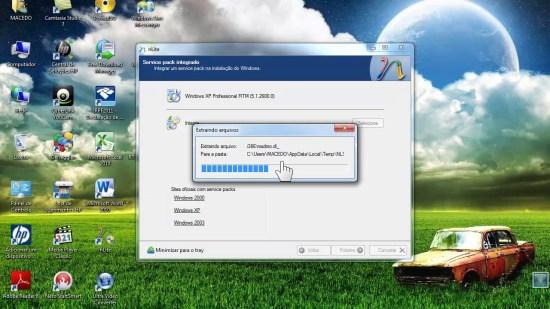 Atualizar Win XP SP1 e SP2 com SP3 - YouTube