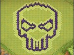 Wn Hall Clash Of Clans Skull Base