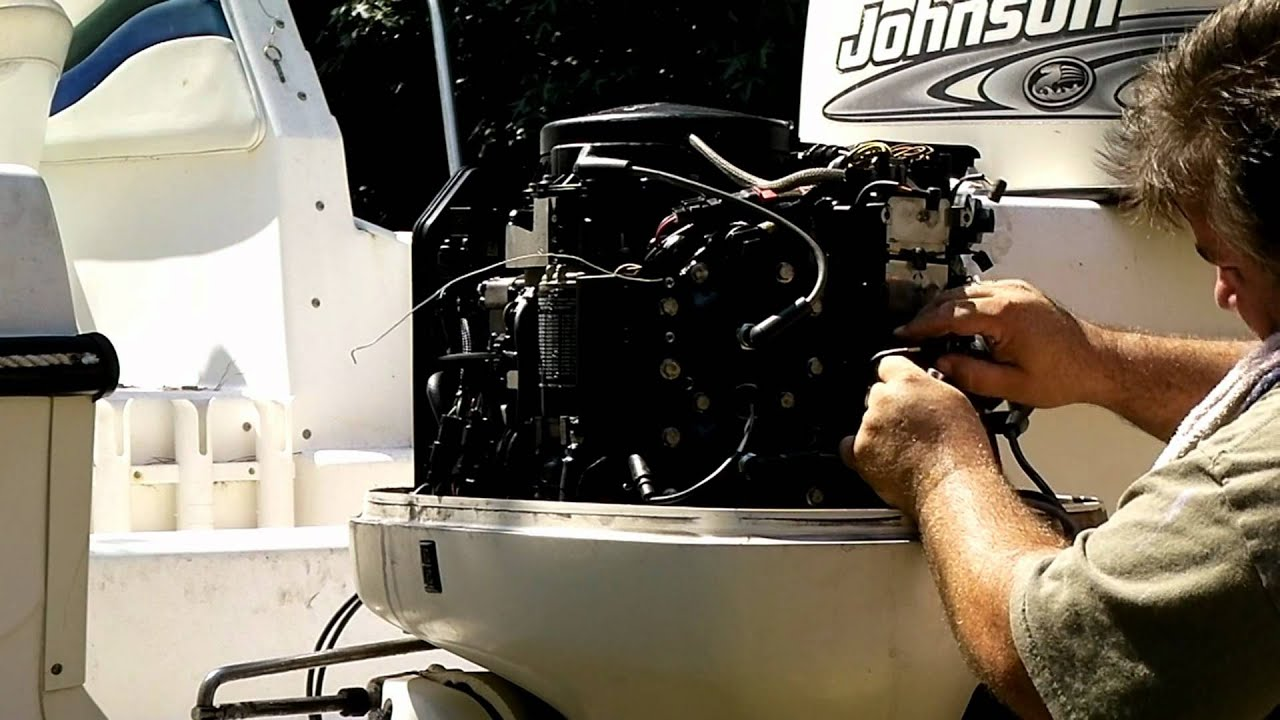 110 Switch To Schematic Wiring Diagram How To Replacing The Powerpack On A Johnson Evinrude