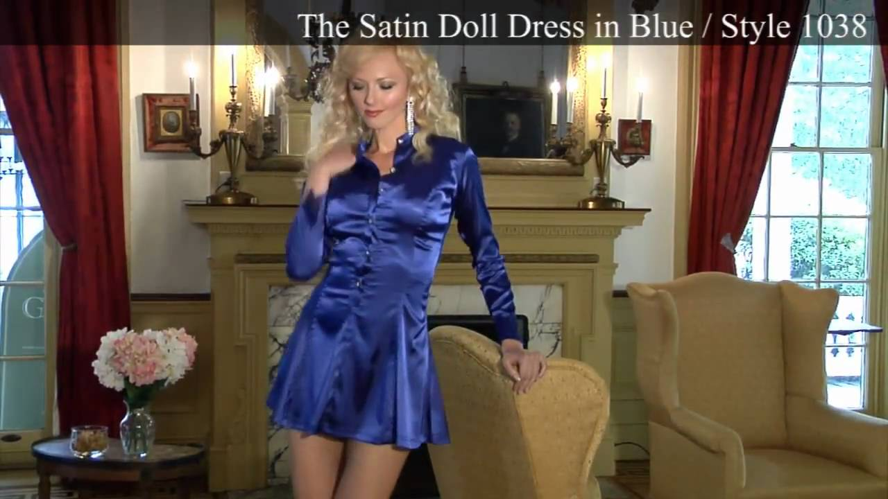 Satin Couture Crossdresser.com Fashion Show Video By Suddenly Fem