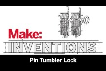 Make: Inventions | Pin Tumbler Lock