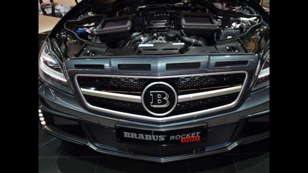 Brabus Car Rocket 18 BRABUS ROCKET V12 800 Mercedes CLS Rocket V12 800 YouTube x