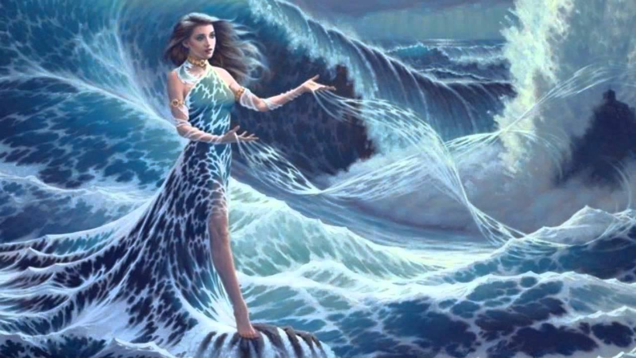Anime Witch Girl Wallpaper Thomas Bergersen Ocean Princess Youtube