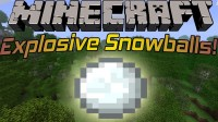 [MINECRAFT] AWESOME SNOWBALLS MOD 1.4.7 - YouTube