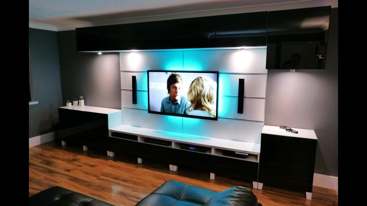 3d Wallpaper Designs For Hall Ikea Besta Livingroom And Kitchen Youtube