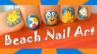 Spring and Summer Beach Nail Art Designs- Cute Sun, Beach ...