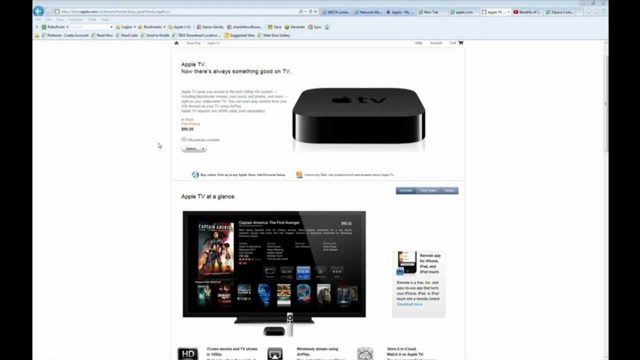 apple tv manual reset