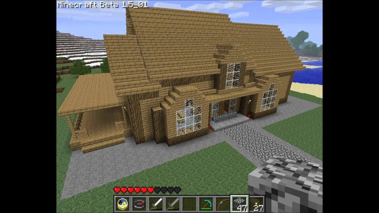 BEST MINECRAFT HOUSE EVER (TUTORIAL)