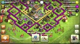 Clash of Clans: Town Hall 8 Defensive Base design - YouTube