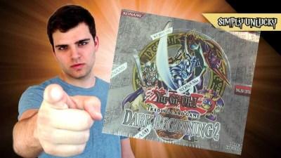 Best Yugioh Dark Beginning 2 Booster Box Opening! Classic. Now.. It has Begun! - YouTube