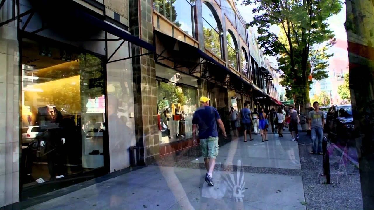 Google Desktop Wallpaper Hd Robson Street Vancouver Canada 2011 Youtube