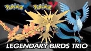 Pokemon Xy How To Catch Zapdos Articuno Moltres
