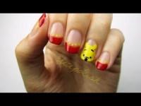 Cute Winnie the Pooh Nails! - YouTube