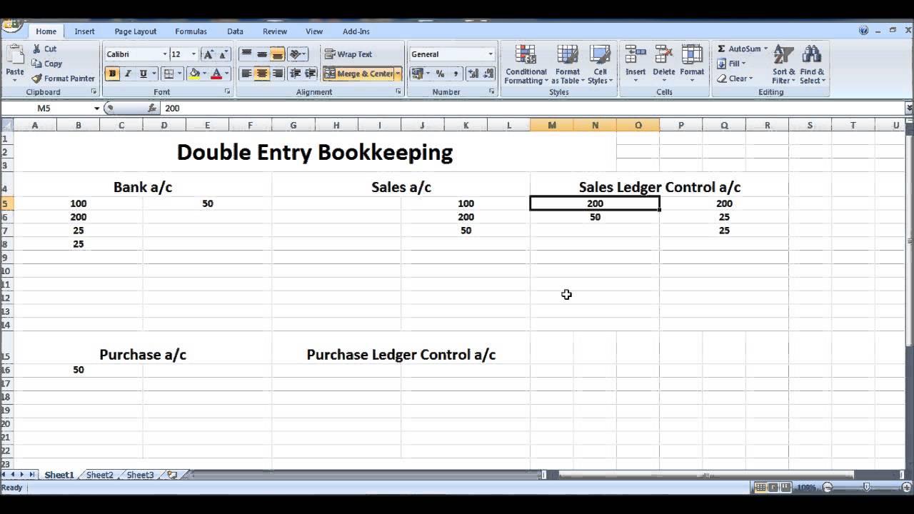 microsoft bookkeeping